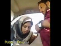 car the on fucking couple Pakistani